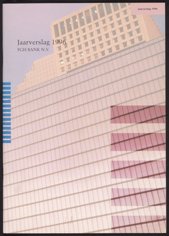 Jaarverslagen Friesch-Groningsche Hypotheekbank / FGH Bank 1996