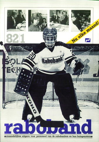 blad 'Raboband' 1982