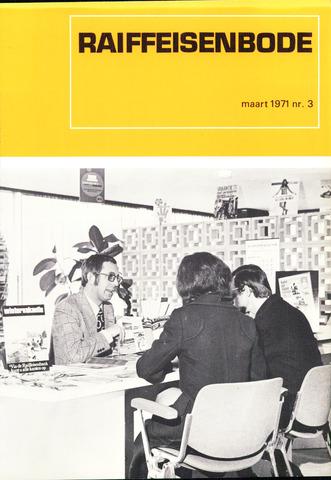 blad 'De Raiffeisen-bode' (CCRB) 1971-03-01