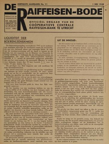 blad 'De Raiffeisen-bode' (CCRB) 1948-05-01