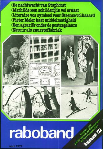 blad 'Raboband' 1977-04-01
