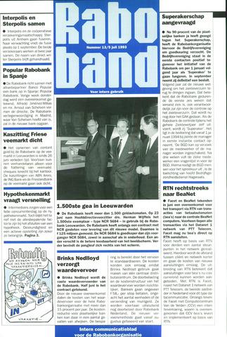 blad 'Raboband' 1993-07-05