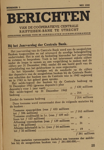 blad 'Berichten' (CCRB) 1944-05-01