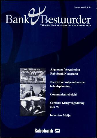 blad 'Bank & Bestuurder' 1992-07-01