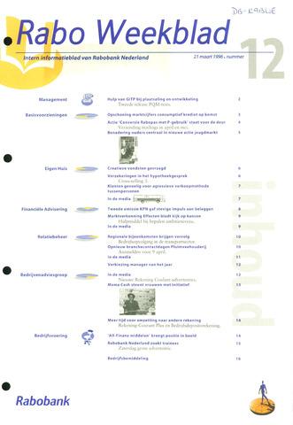 Rabo Weekblad 1996-03-21