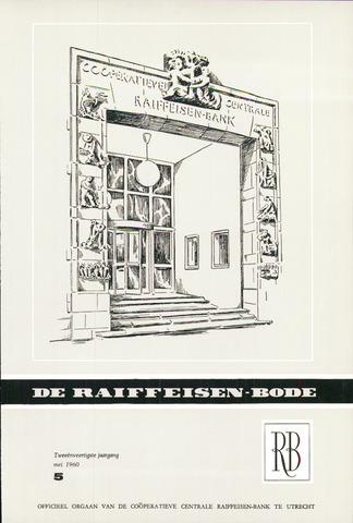 blad 'De Raiffeisen-bode' (CCRB) 1960-05-01