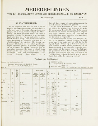blad 'Mededeelingen' (CCB) 1911-12-01