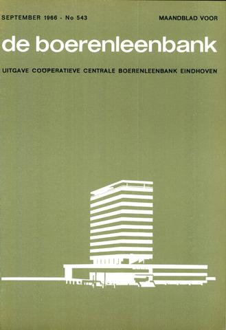 blad 'de boerenleenbank' (CCB) 1966-09-01