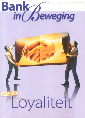 blad 'Bank in Beweging' 2009-03-01
