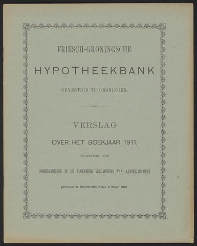 Jaarverslagen Friesch-Groningsche Hypotheekbank / FGH Bank 1911