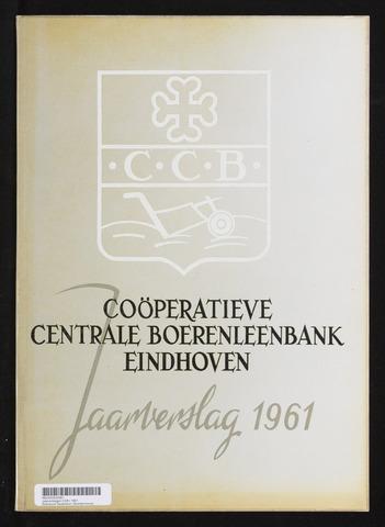 Jaarverslagen Coöperatieve Centrale Boerenleenbank 1961-12-31