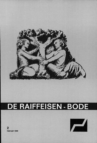blad 'De Raiffeisen-bode' (CCRB) 1966-02-01