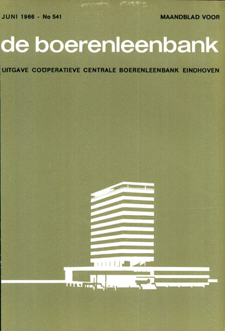 blad 'de boerenleenbank' (CCB) 1966-06-01