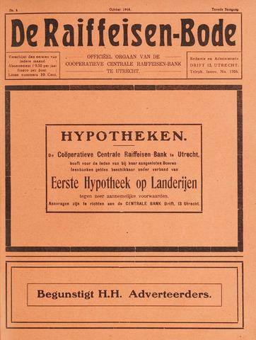 blad 'De Raiffeisen-bode' (CCRB) 1916-10-01