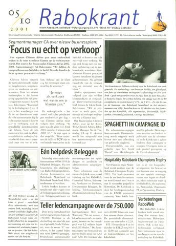 Rabokrant 2001-10-05