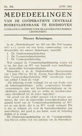blad 'Maandelijkse Mededelingen' (CCB) 1942-06-01