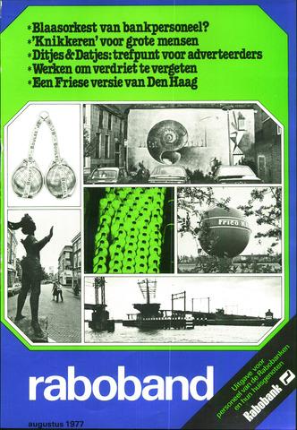 blad 'Raboband' 1977-08-01