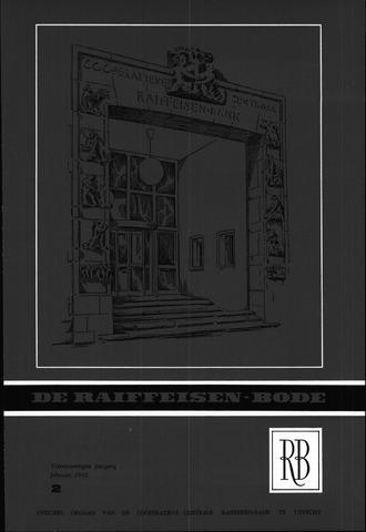 blad 'De Raiffeisen-bode' (CCRB) 1962-02-01
