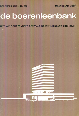 blad 'de boerenleenbank' (CCB) 1967-12-01