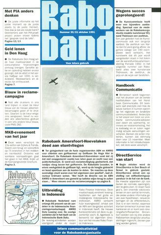 blad 'Raboband' 1991-10-21