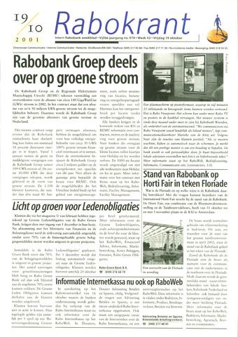 Rabokrant 2001-10-19