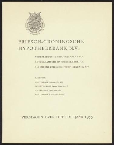 Jaarverslagen Friesch-Groningsche Hypotheekbank / FGH Bank 1955
