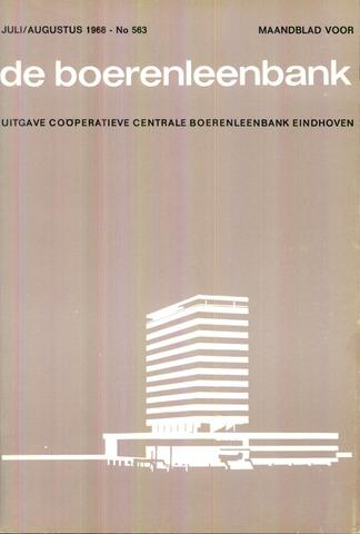 blad 'de boerenleenbank' (CCB) 1968-07-01