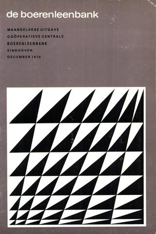 blad 'de boerenleenbank' (CCB) 1970-12-01