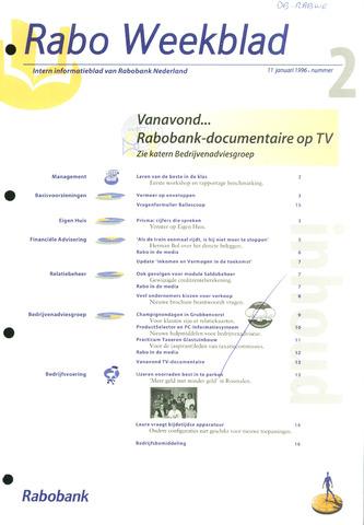 Rabo Weekblad 1996-01-11