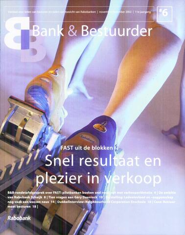 blad 'Bank & Bestuurder' 2002-11-01