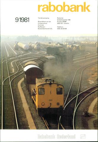 blad 'Rabobank' 1981-09-01