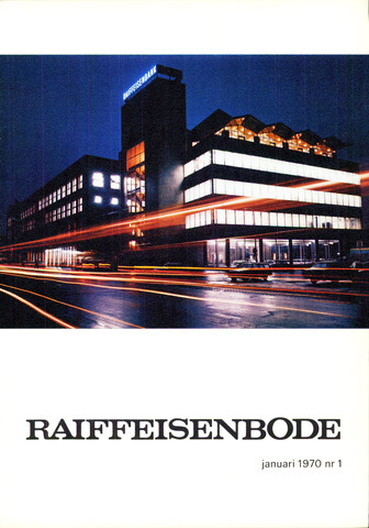 blad 'De Raiffeisen-bode' (CCRB) 1970