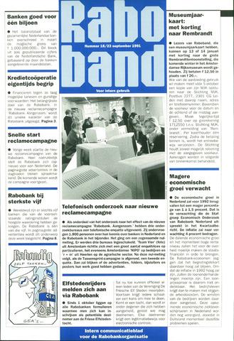 blad 'Raboband' 1991-09-23