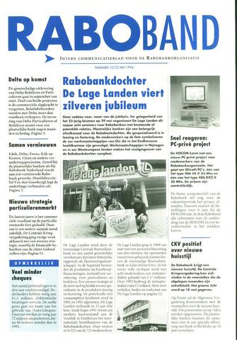 blad 'Raboband' 1994-05-25