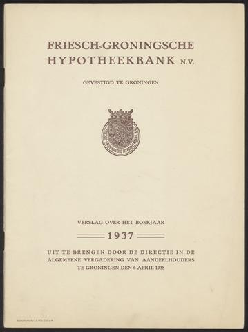 Jaarverslagen Friesch-Groningsche Hypotheekbank / FGH Bank 1937