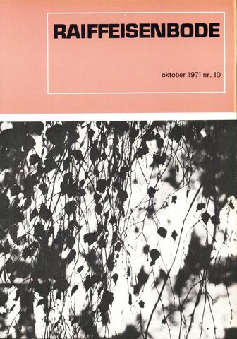 blad 'De Raiffeisen-bode' (CCRB) 1971-10-01