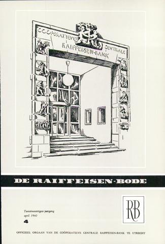 blad 'De Raiffeisen-bode' (CCRB) 1960-04-01