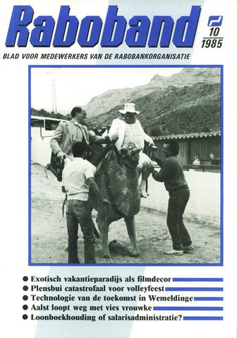 blad 'Raboband' 1985-07-24