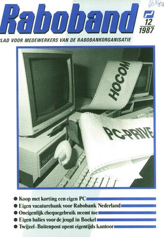 blad 'Raboband' 1987-09-02