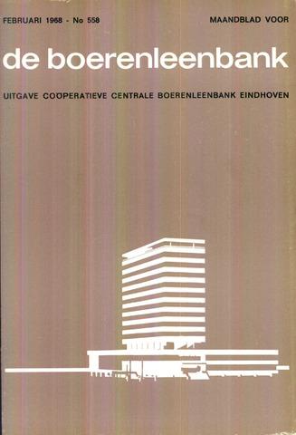 blad 'de boerenleenbank' (CCB) 1968-02-01
