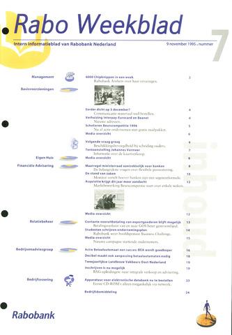 Rabo Weekblad 1995-11-09