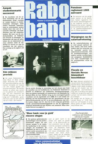 blad 'Raboband' 1989