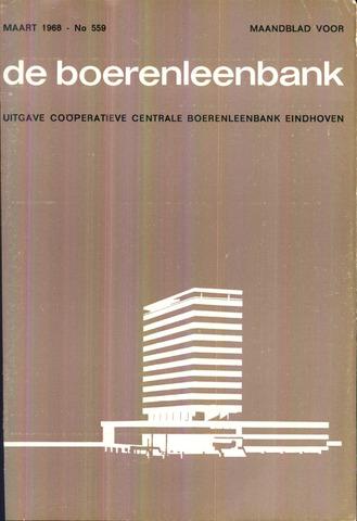 blad 'de boerenleenbank' (CCB) 1968-03-01