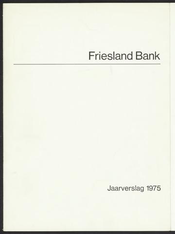 Jaarverslagen Friesland Bank 1975