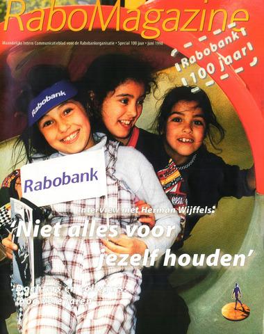 blad 'RaboMagazine' 1998-06-01