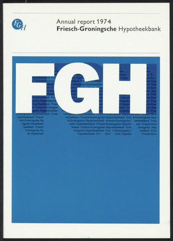 Annual Reports FGH Bank 1974