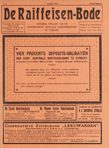 blad 'De Raiffeisen-bode' (CCRB) 1916-12-01
