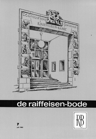blad 'De Raiffeisen-bode' (CCRB) 1963-07-01