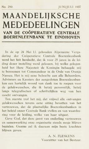 blad 'Maandelijkse Mededelingen' (CCB) 1937-06-01