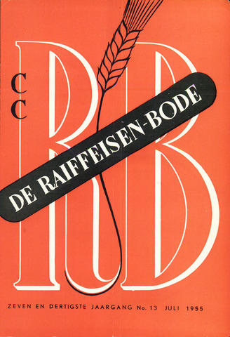 blad 'De Raiffeisen-bode' (CCRB) 1955-07-01